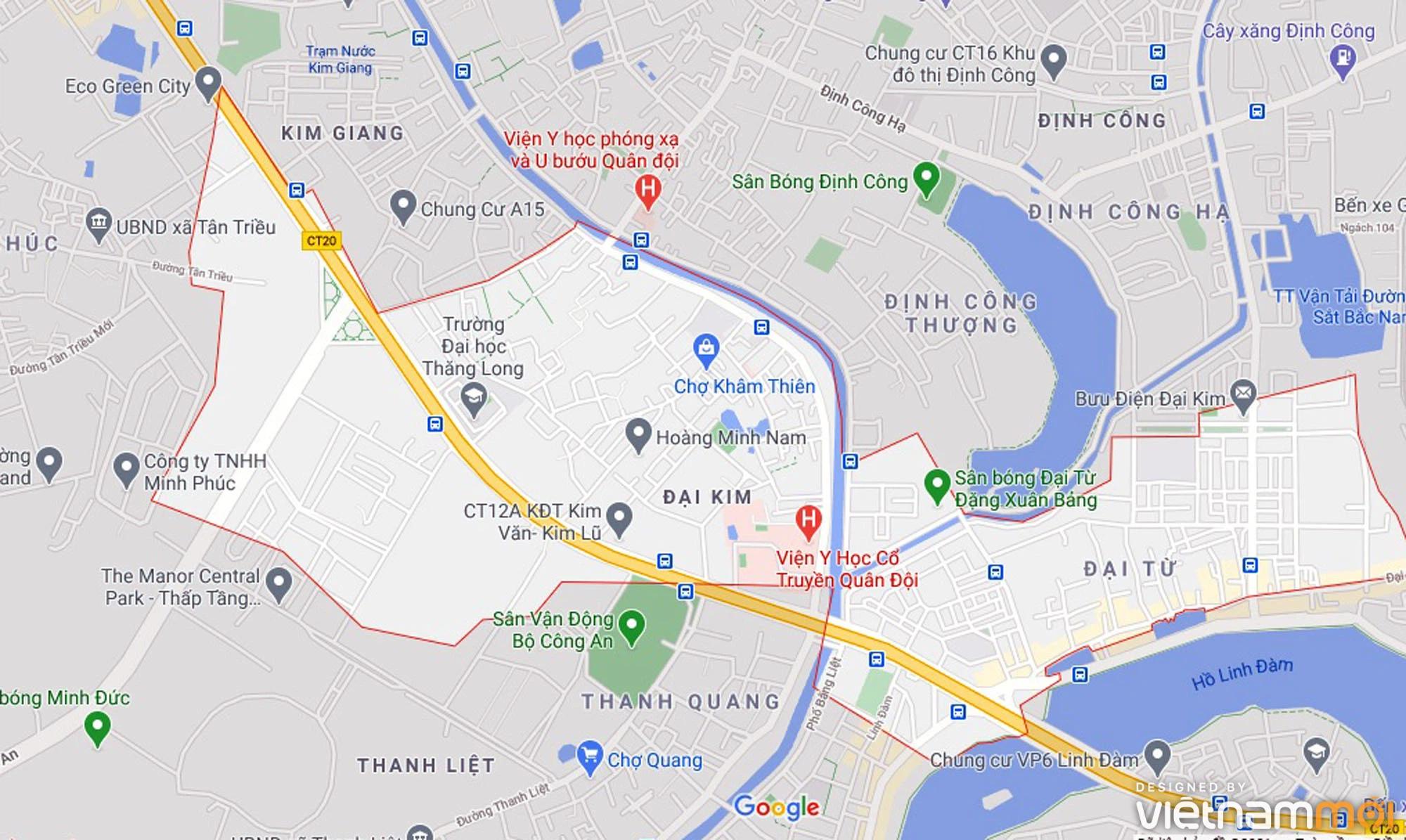 Đường sẽ mở theo quy hoạch ở phường Đại Kim, Hoàng Mai, Hà Nội (phần 2) - Ảnh 1.