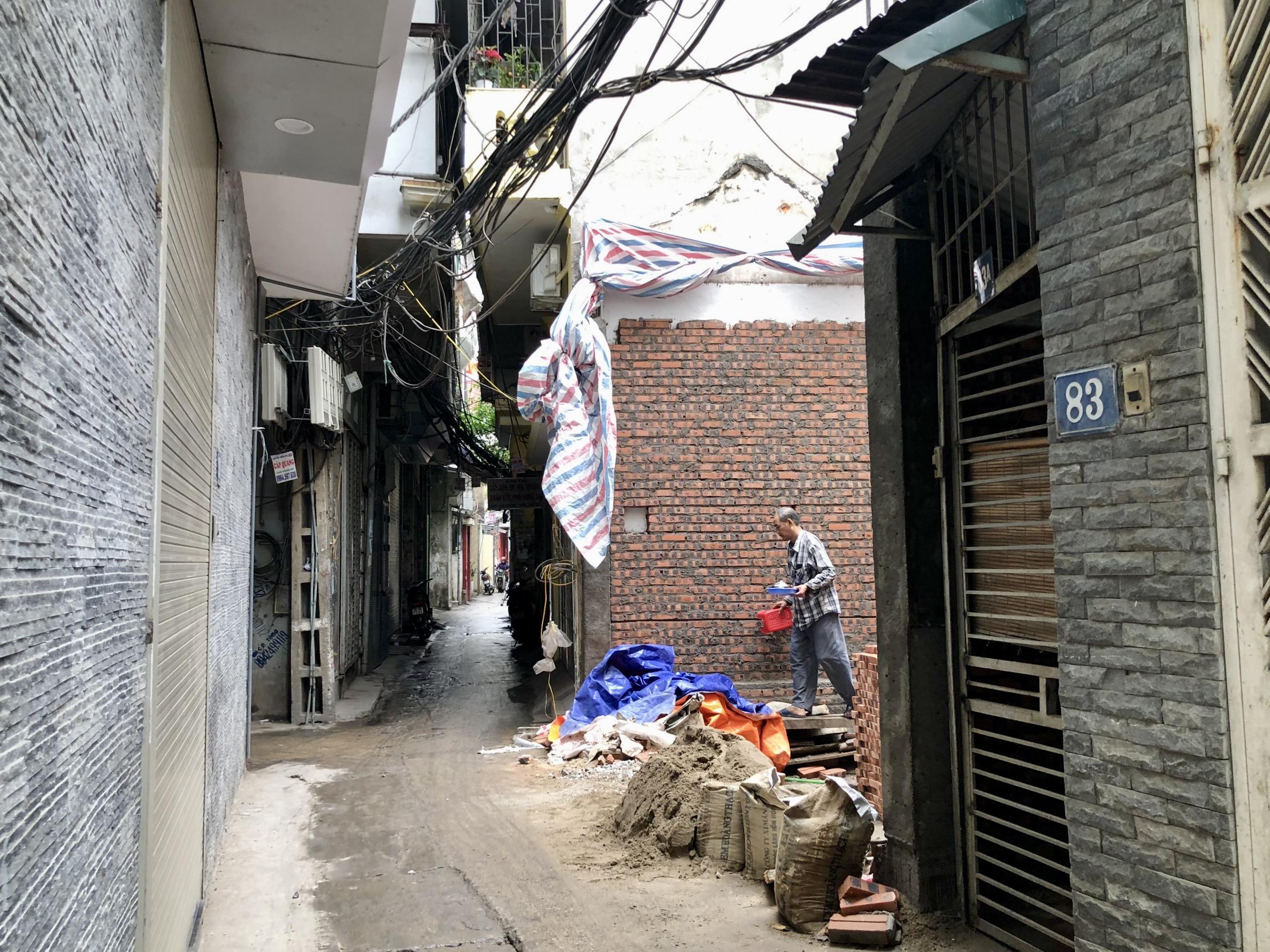 Đường sắp mở theo quy hoạch ở phường Liễu Giai, Ba Đình, Hà Nội (phần 3): Hai đường nối từ Văn Cao đến ngõ 279 Đội Cấn kéo dài - Ảnh 16.