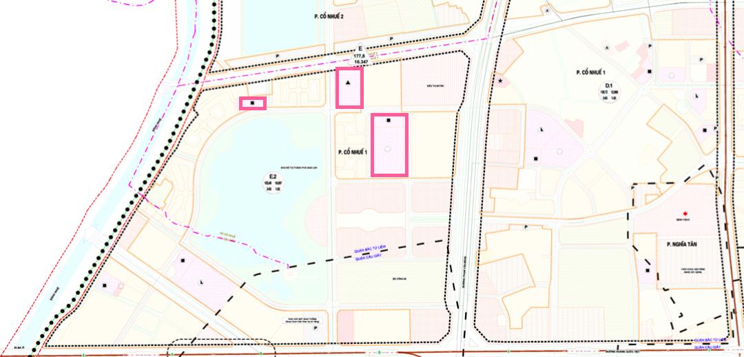 Đất dính quy hoạch ở phường Cổ Nhuế 1, Bắc Từ Liêm, Hà Nội - Ảnh 1.