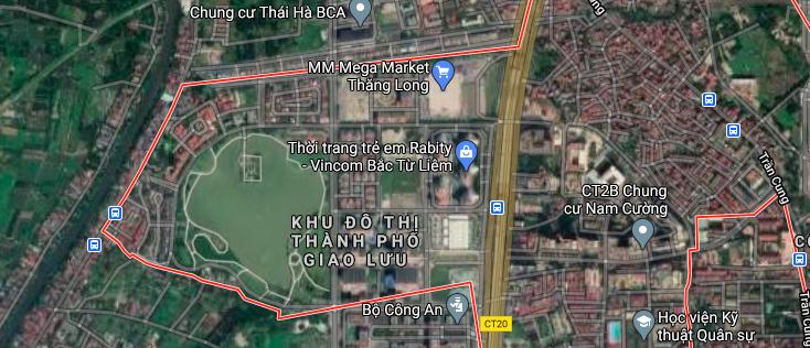 Đất dính quy hoạch ở phường Cổ Nhuế 1, Bắc Từ Liêm, Hà Nội - Ảnh 2.