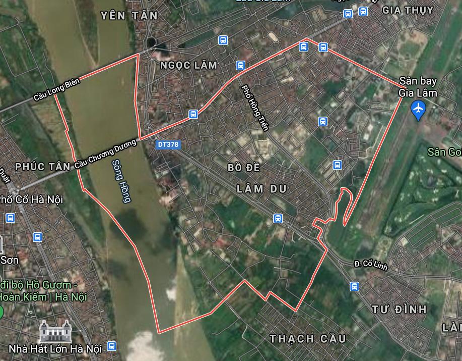 Kế hoạch sử dụng đất phường Bồ Đề, Long Biên, Hà Nội năm 2021 - Ảnh 2.