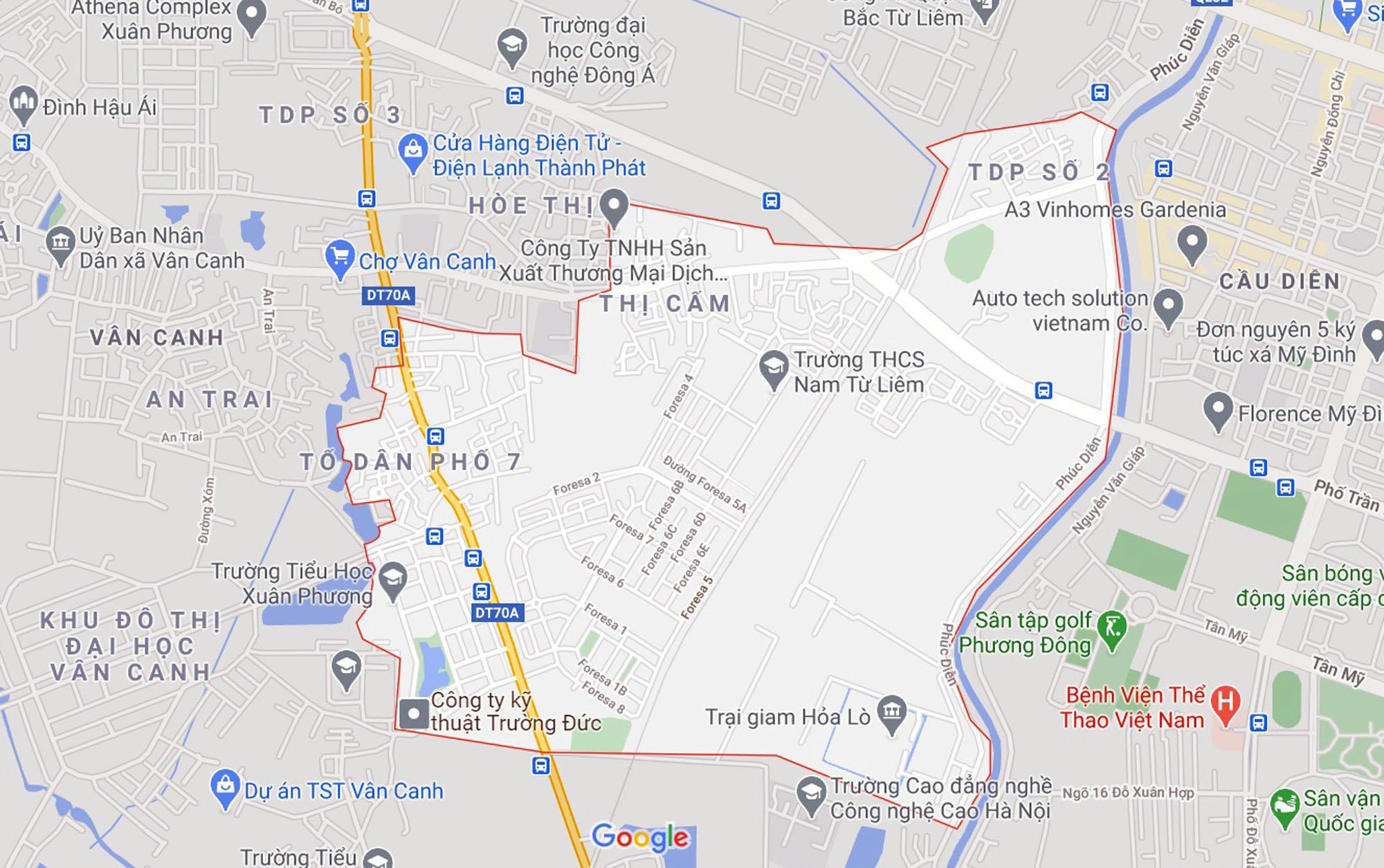 Những khu đất sắp thu hồi để mở đường ở phường Xuân Phương, Nam Từ Liêm, Hà Nội (phần 2) - Ảnh 1.
