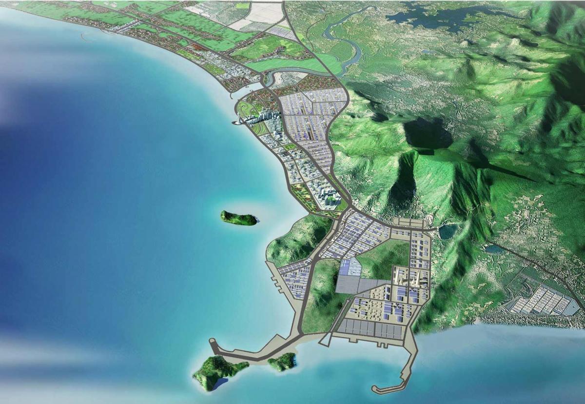 Quảng Bình cho khảo sát làm hai cảng ở Khu kinh tế Hòn La - Ảnh 1.