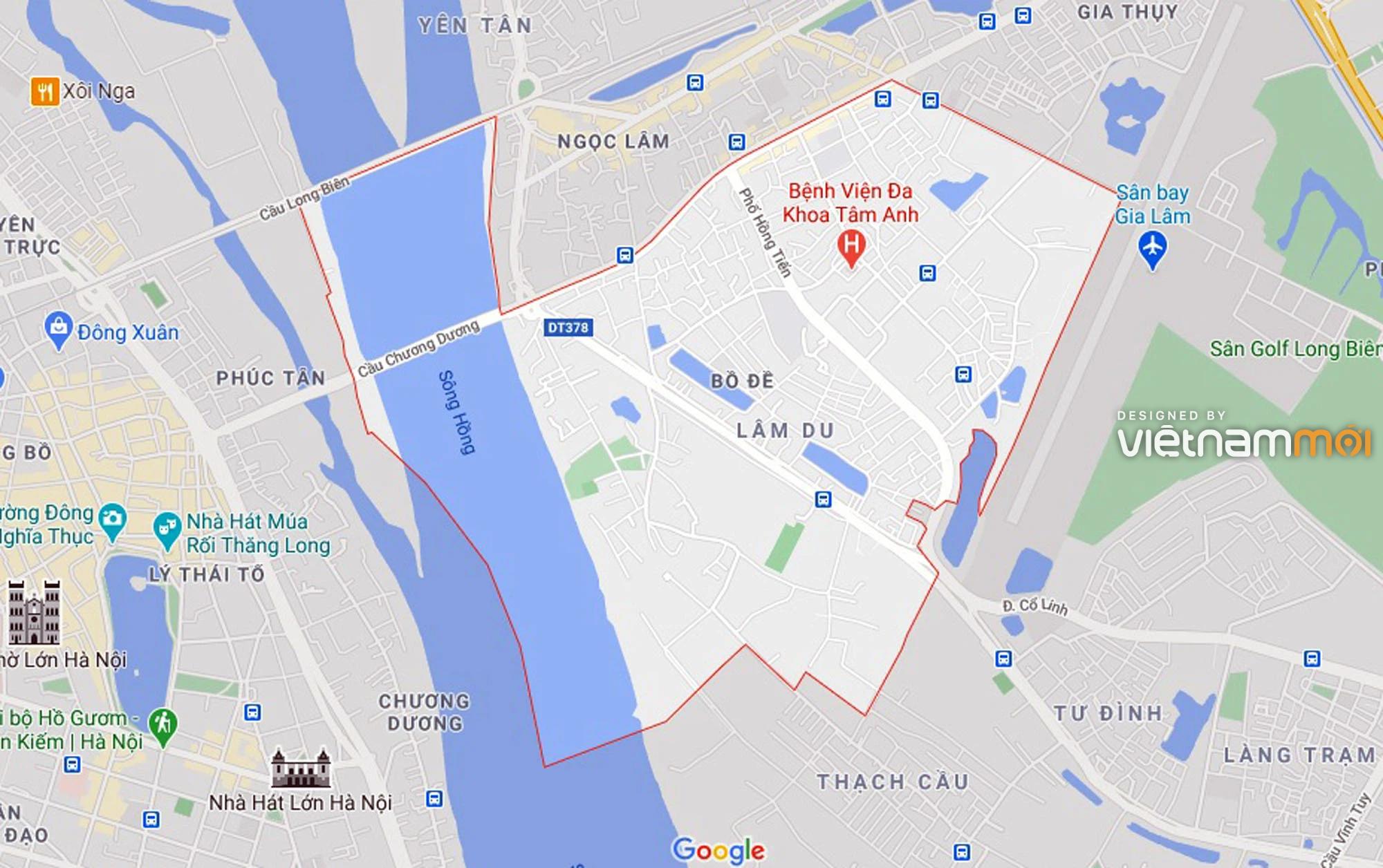 Ba đường sẽ mở theo quy hoạch ở phường Bồ Đề, Long Biên, Hà Nội (phần 4) - Ảnh 1.