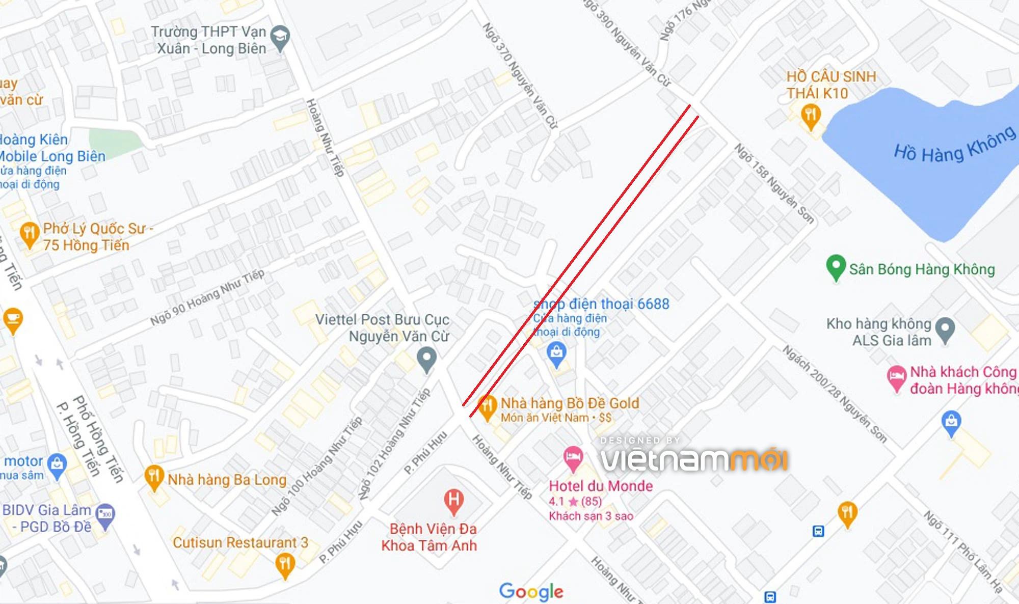 Ba đường sẽ mở theo quy hoạch ở phường Bồ Đề, Long Biên, Hà Nội (phần 4) - Ảnh 2.
