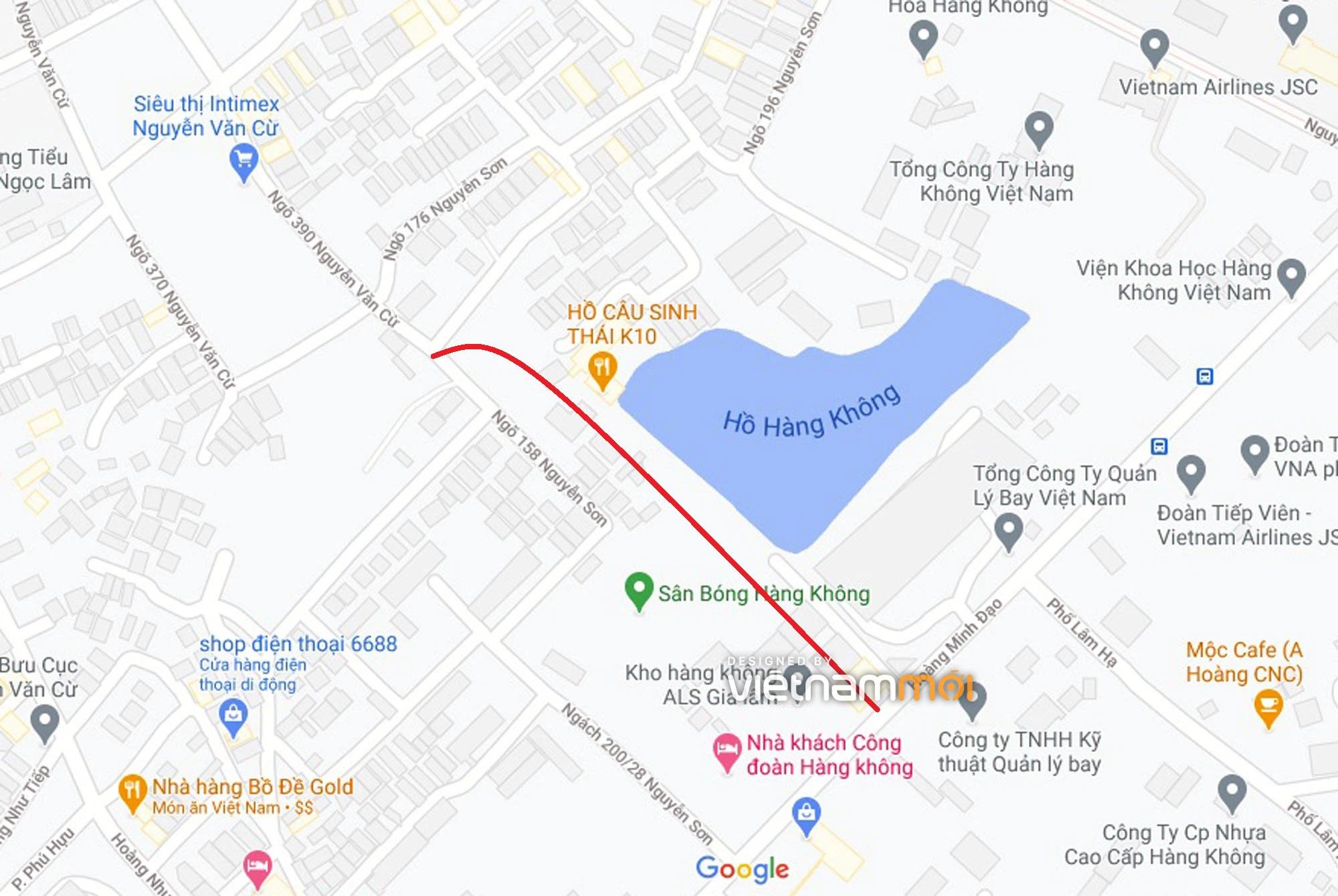 Ba đường sẽ mở theo quy hoạch ở phường Bồ Đề, Long Biên, Hà Nội (phần 4) - Ảnh 6.