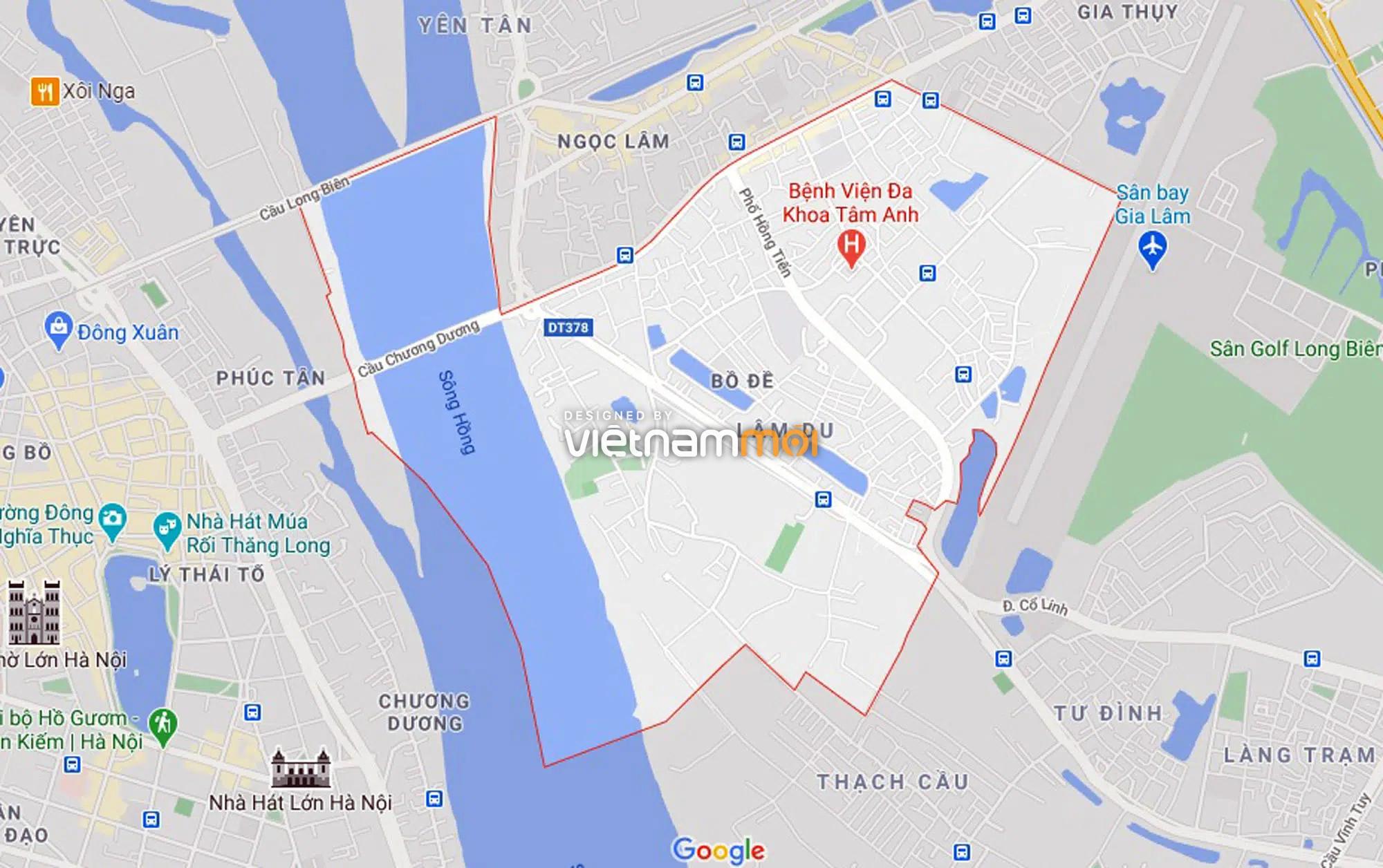 Ba đường sẽ mở theo qui hoạch ở phường Bồ Đề, Long Biên, Hà Nội (phần 3) - Ảnh 1.