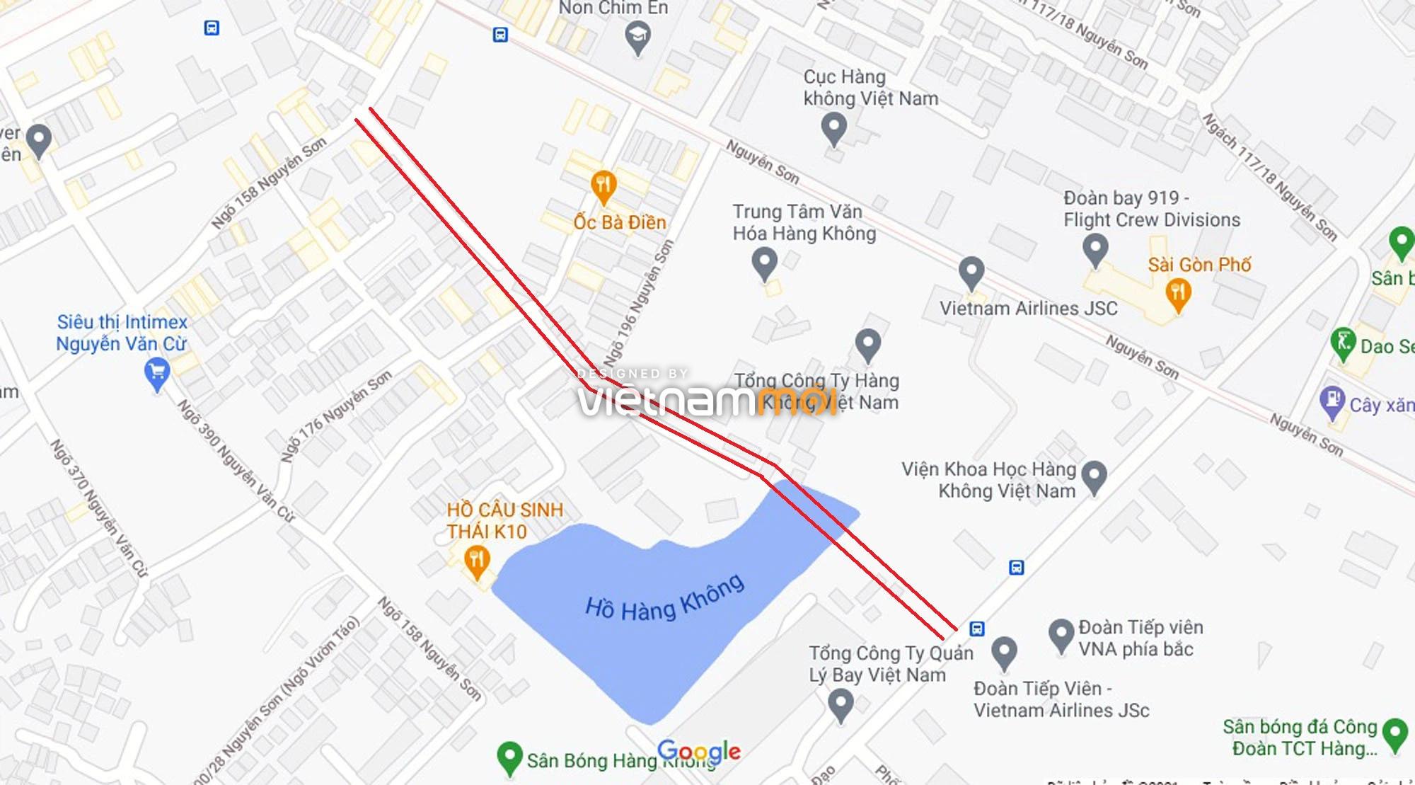 Ba đường sẽ mở theo qui hoạch ở phường Bồ Đề, Long Biên, Hà Nội (phần 3) - Ảnh 7.