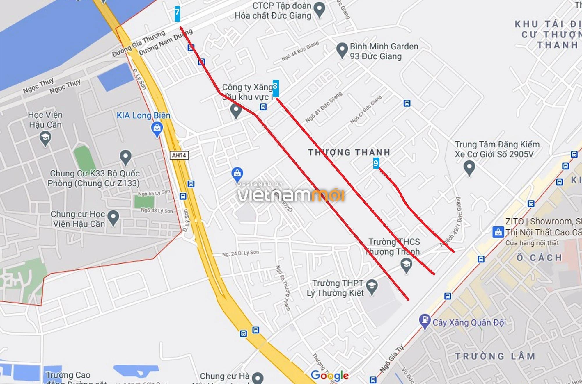 Đường sẽ mở theo quy hoạch ở phường Thượng Thanh, Long Biên, Hà Nội (phần 4) - Ảnh 13.