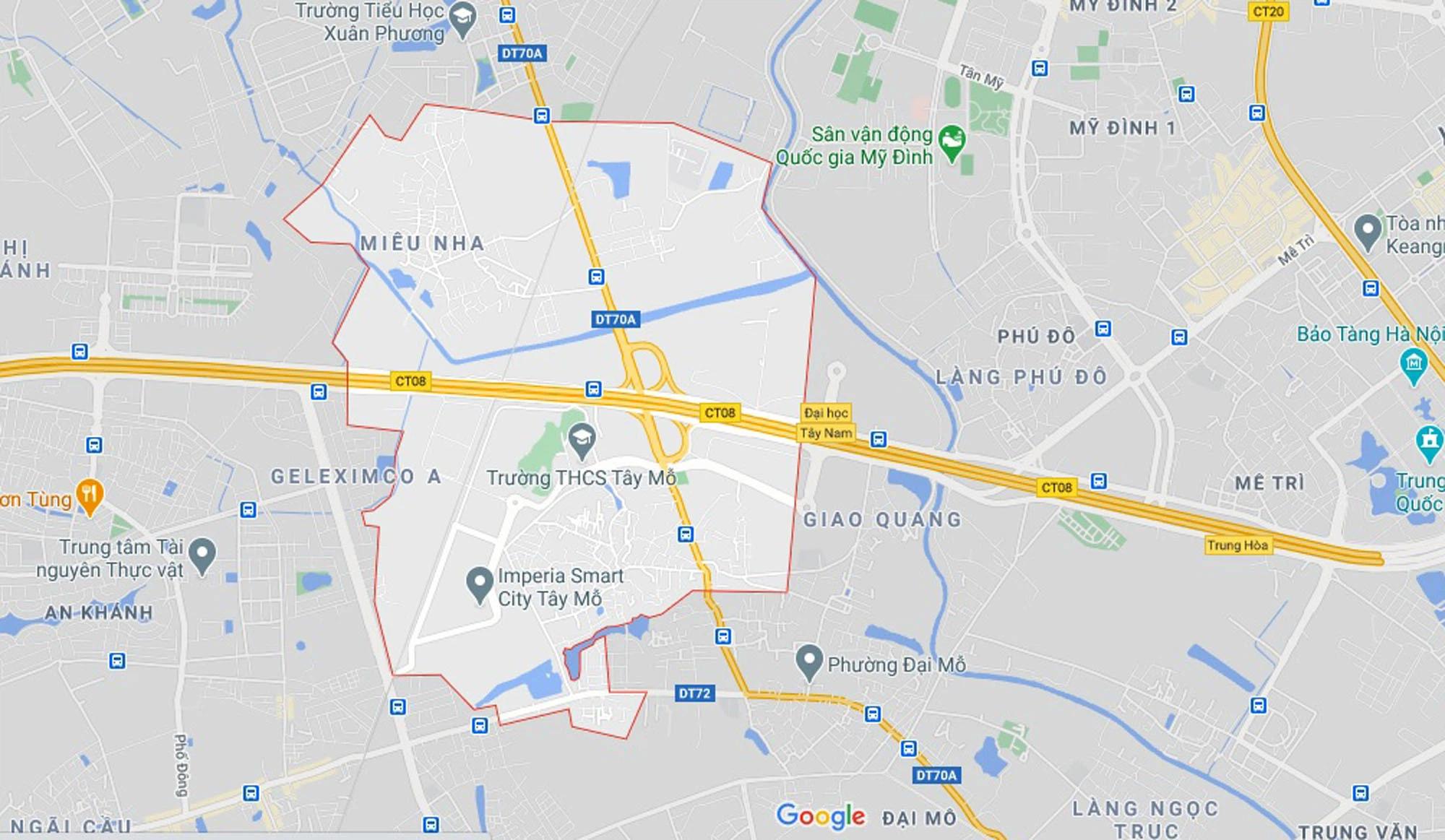 Đường sẽ mở theo qui hoạch ở phường Tây Mỗ, Nam Từ Liêm, Hà Nội (phần 3) - Ảnh 1.