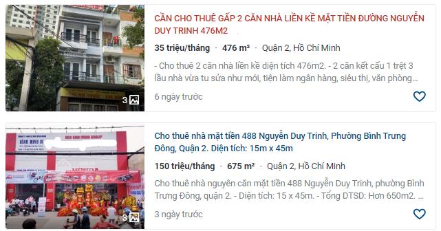 Giá đất đường Nguyễn Duy Trinh, TP Thủ Đức, TP HCM - Ảnh 3.