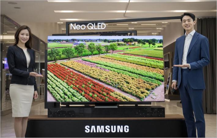Samsung cho ra mắt toàn cầu màn hình TV Neo QLED - Ảnh 1.