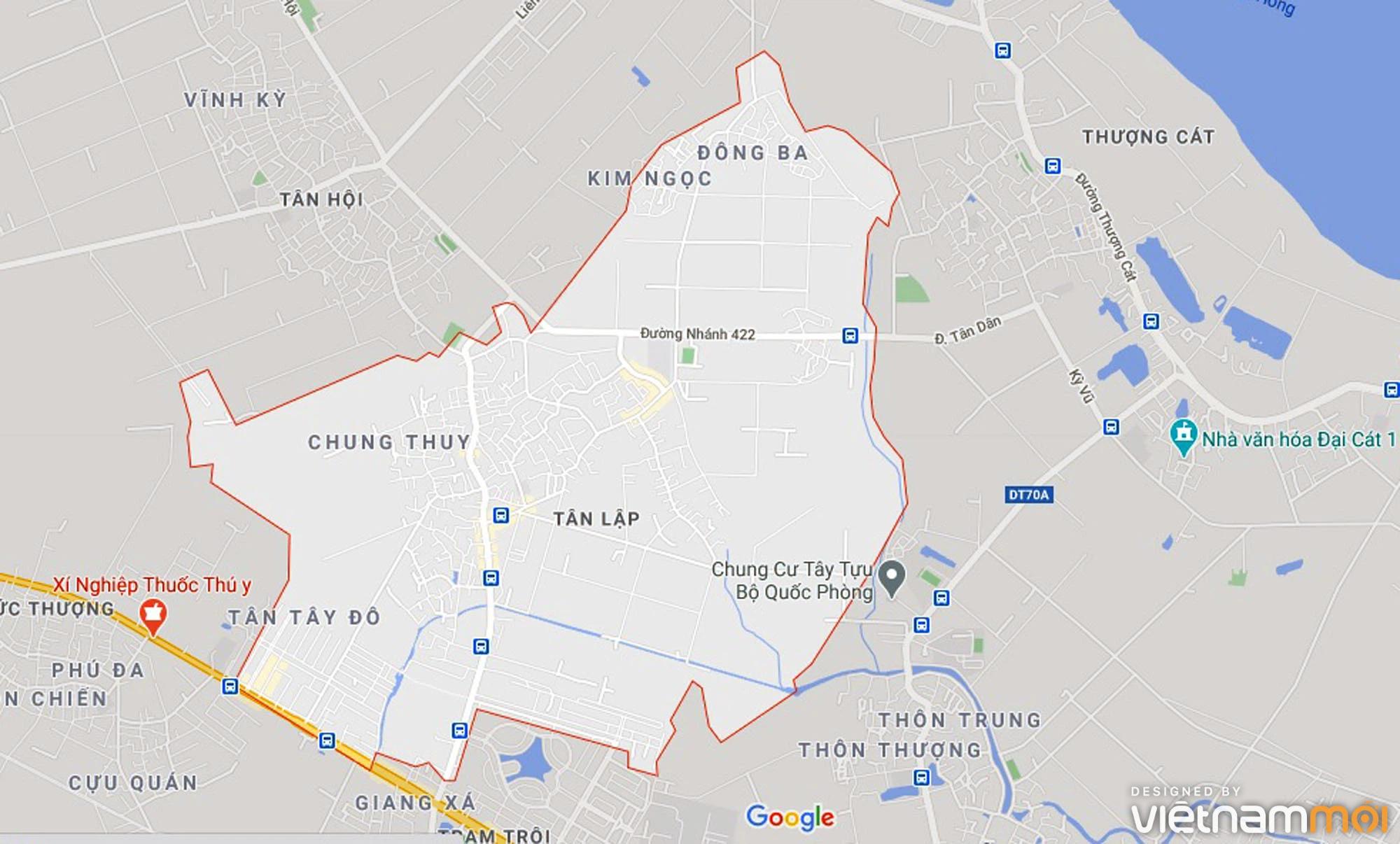 Đường sẽ mở theo quy hoạch ở xã Tân Lập, Đan Phượng, Hà Nội (phần 3) - Ảnh 1.