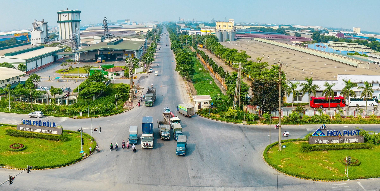 Dự án mở rộng KCN Phố Nối A thêm 92,5 ha về tay Hòa Phát - Ảnh 1.