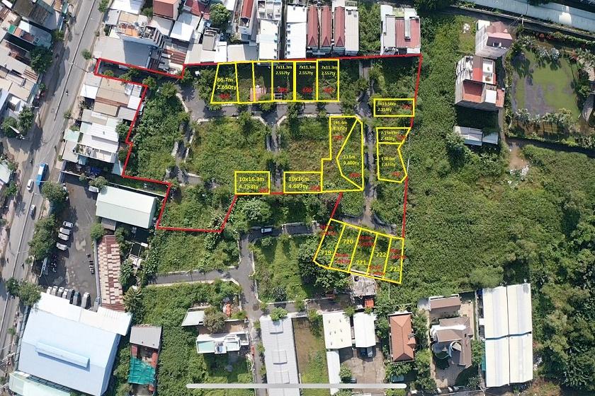 VIB thanh lý 7 thửa đất rộng từ 96 - 191 m2 tại huyện Nhà Bè, TP HCM, khởi điểm từ 2,375 tỷ đồng - Ảnh 1.