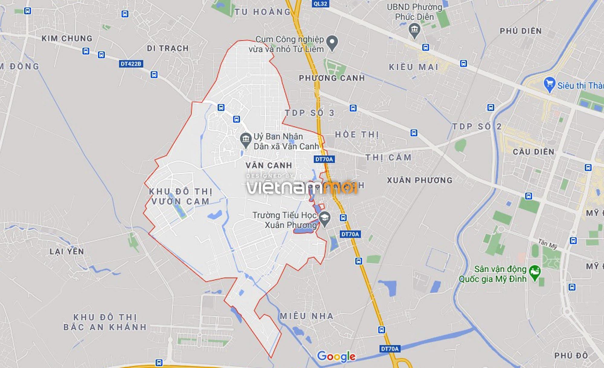 Đường sẽ mở theo quy hoạch ở xã Vân Canh, Hoài Đức, Hà Nội (phần 3) - Ảnh 1.