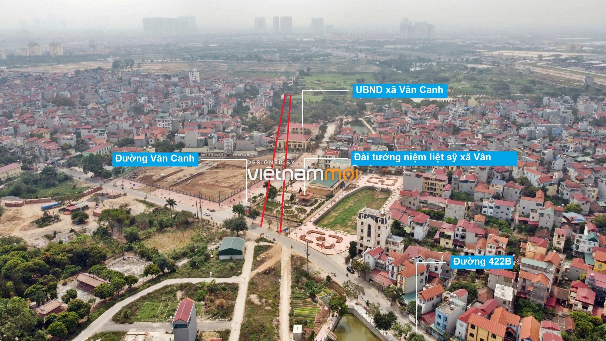 Đường sẽ mở theo quy hoạch ở xã Vân Canh, Hoài Đức, Hà Nội (phần 3) - Ảnh 3.