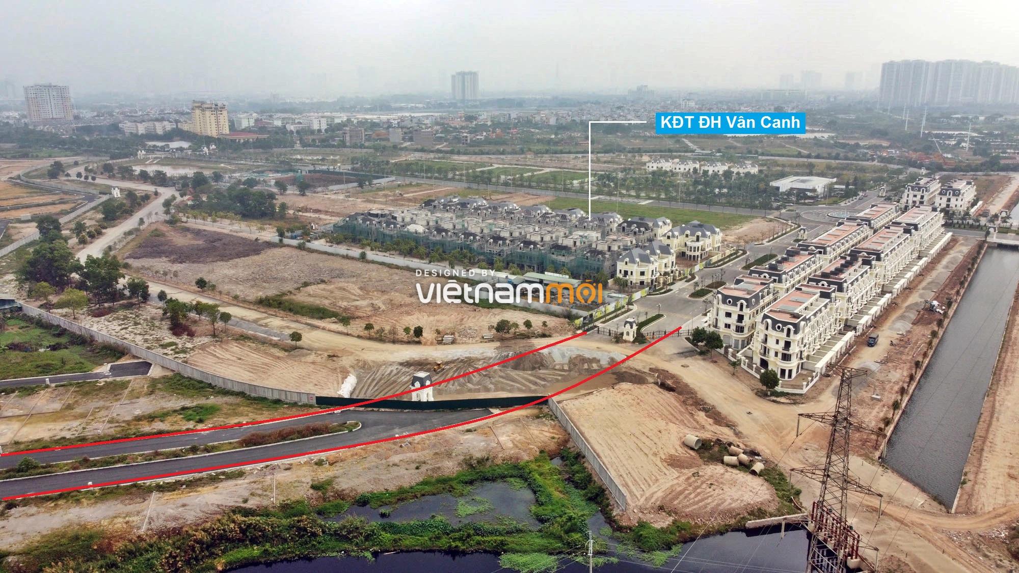 Đường sẽ mở theo quy hoạch ở xã Vân Canh, Hoài Đức, Hà Nội (phần 3) - Ảnh 6.