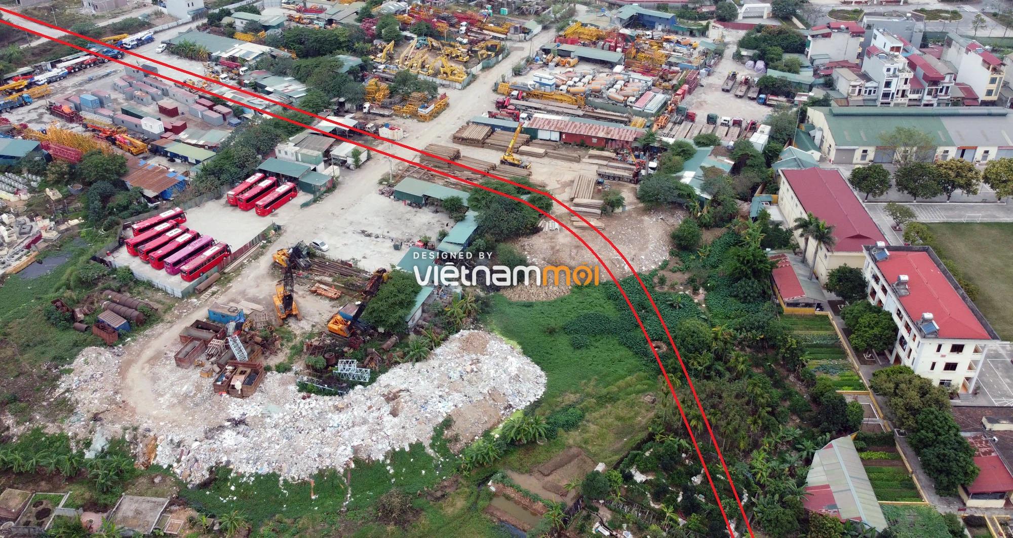 Đường sẽ mở theo quy hoạch ở xã Vân Canh, Hoài Đức, Hà Nội (phần 3) - Ảnh 13.