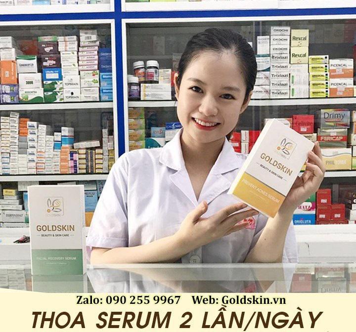 Goldskin – Serum hỗ trợ điều trị mụn trứng cá hiệu quả - Ảnh 2.