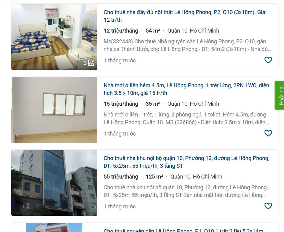 Giá đất đường Lê Hồng Phong, TP HCM - Ảnh 3.