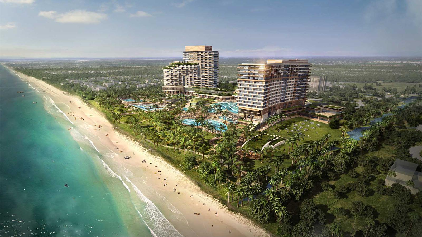 Quảng Nam: Chủ đầu tư khu nghỉ dưỡng, casino vốn đầu tư 4 tỷ USD muốn chuyển nhượng một phần dự án - Ảnh 1.