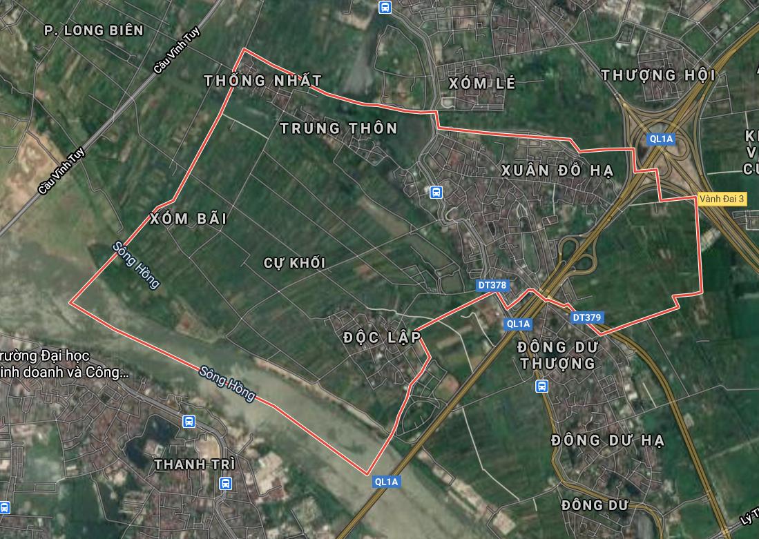 Kế hoạch sử dụng đất phường Cự Khối, Long Biên, Hà Nội năm 2021 - Ảnh 2.