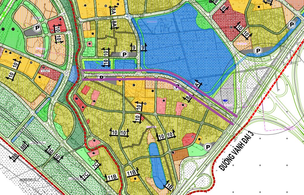 Đường sẽ mở ở phường Cự Khối, Long Biên, Hà Nội - Ảnh 1.