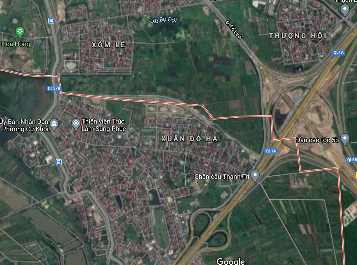 Đường sẽ mở ở phường Cự Khối, Long Biên, Hà Nội - Ảnh 2.