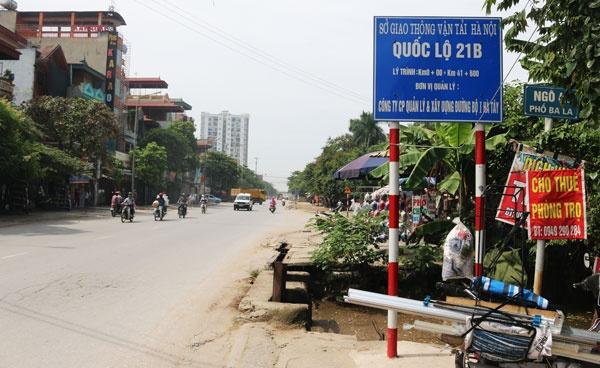 Hà Nội duyệt mở rộng Quốc lộ 21B đoạn qua các huyện Ứng Hòa, Thanh Oai - Ảnh 1.