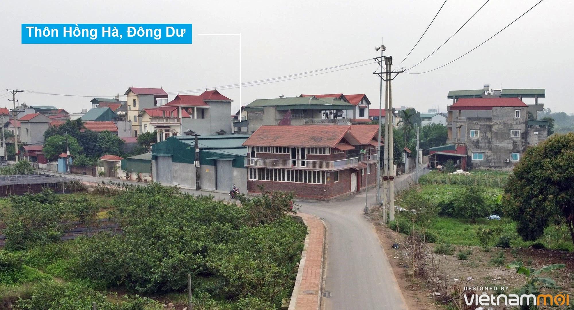 Toàn cảnh hiện trạng Phân khu đô thị sông Hồng trên địa bàn huyện Gia Lâm - Ảnh 9.