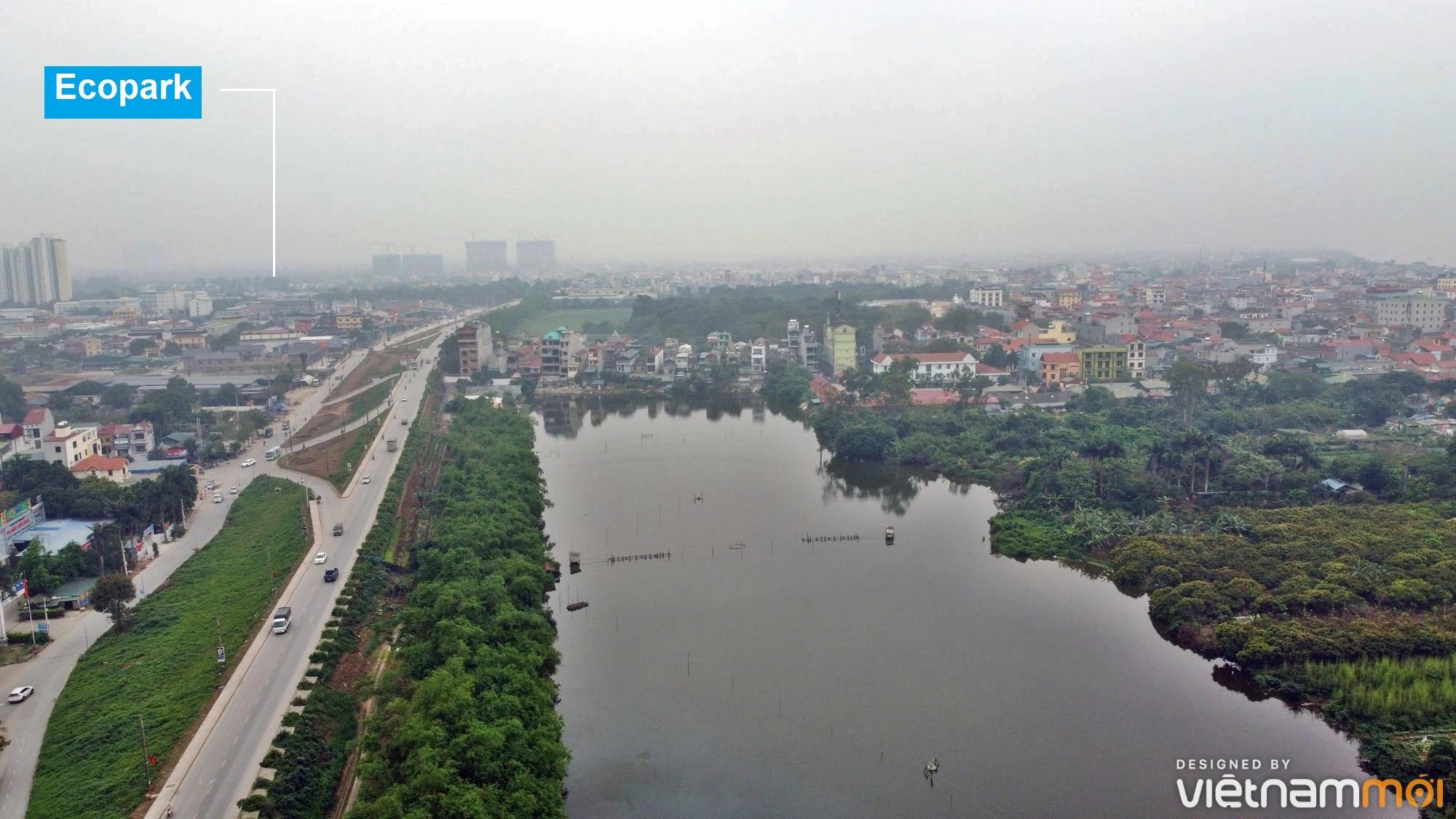 Toàn cảnh hiện trạng Phân khu đô thị sông Hồng trên địa bàn huyện Gia Lâm - Ảnh 12.
