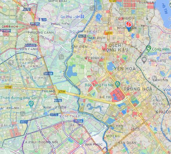 Bản đồ quy hoạch sử dụng đất quận Nam Từ Liêm, Hà Nội - Ảnh 2.