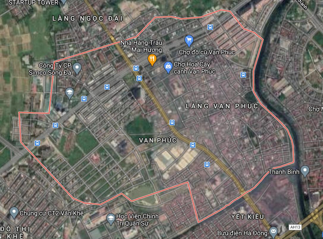 Kế hoạch sử dụng đất phường Vạn Phúc, Hà Đông, Hà Nội năm 2021 - Ảnh 2.