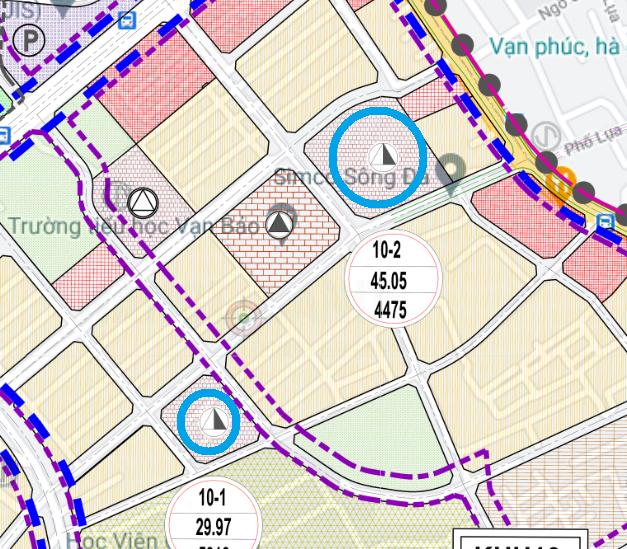 Đất dính quy hoạch ở phường Vạn Phúc, Hà Đông, Hà Nội - Ảnh 1.