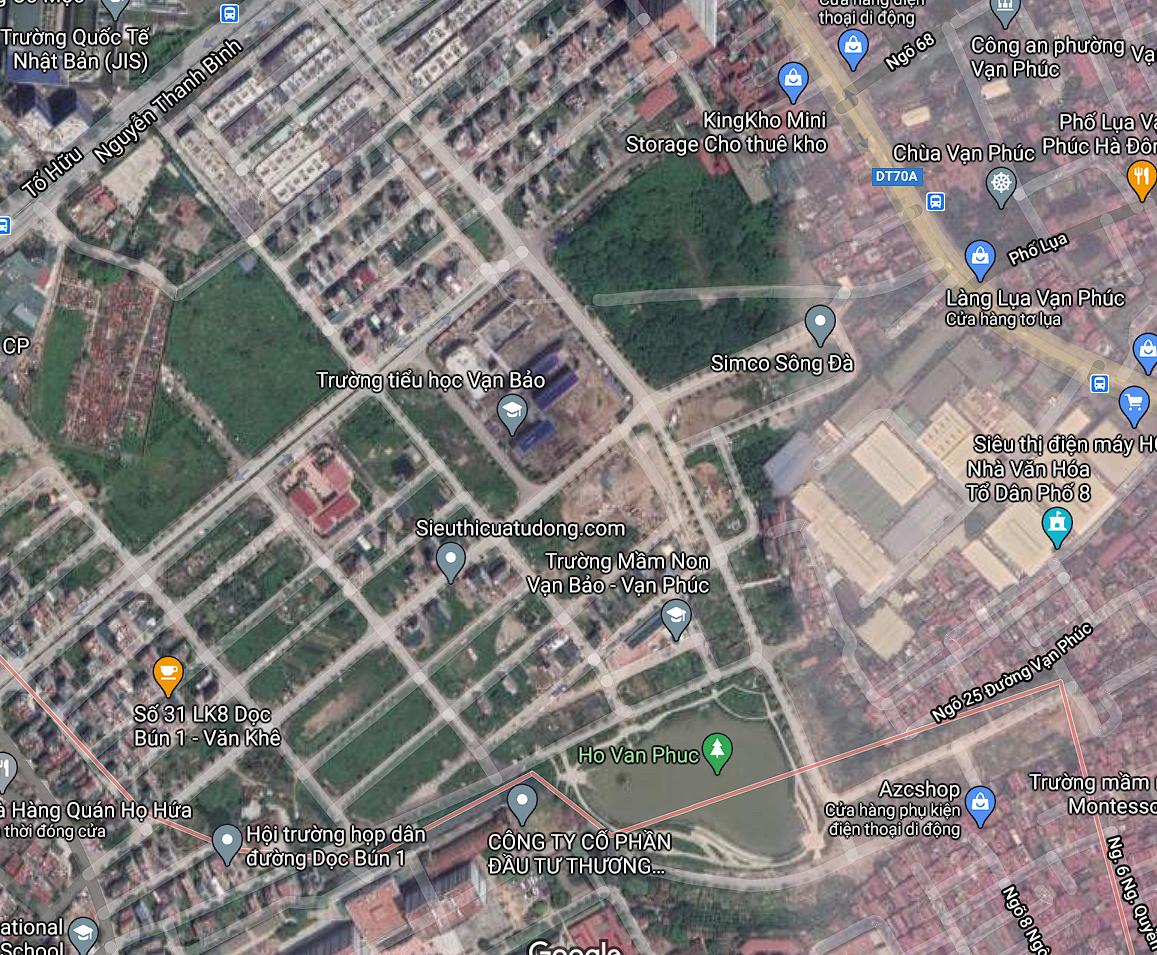 Đất dính quy hoạch ở phường Vạn Phúc, Hà Đông, Hà Nội - Ảnh 2.