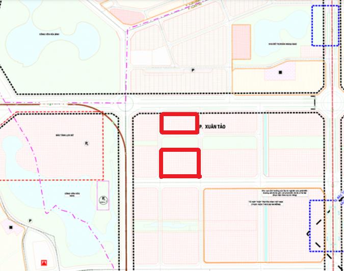Đất dính quy hoạch ở phường Xuân Tảo, Bắc Từ Liêm, Hà Nội - Ảnh 1.