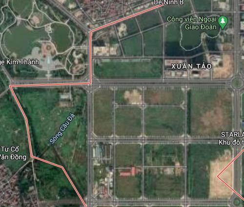 Đất dính quy hoạch ở phường Xuân Tảo, Bắc Từ Liêm, Hà Nội - Ảnh 2.