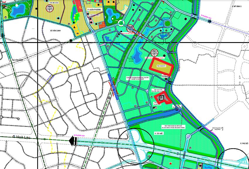 Đất dính quy hoạch ở quận Nam Từ Liêm, Hà Nội - Ảnh 1.
