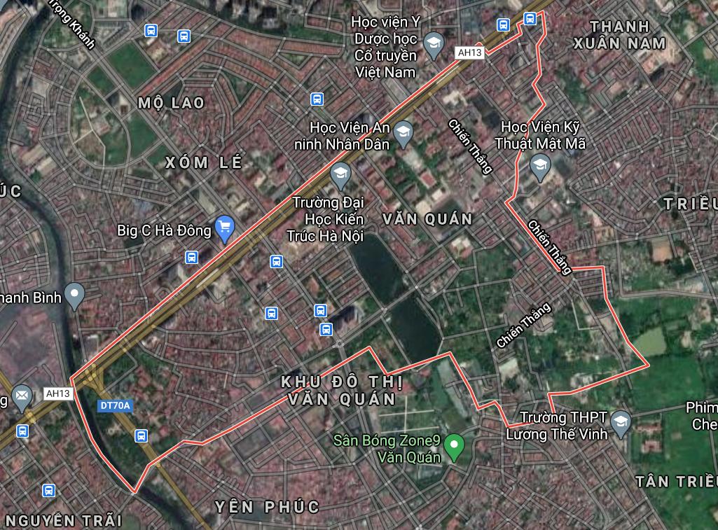 Kế hoạch sử dụng đất phường Văn Quán, Hà Đông, Hà Nội năm 2021 - Ảnh 2.