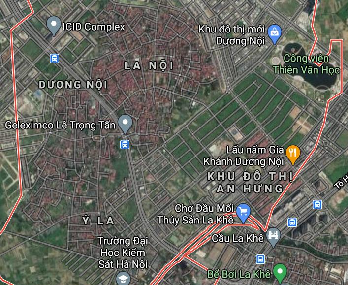 Đường sẽ mở ở phường Dương Nội, Hà Đông, Hà Nội - Ảnh 2.