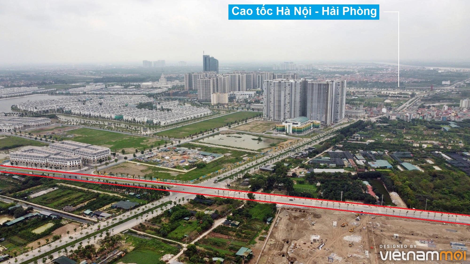 Toàn cảnh đường từ Kiêu Kỵ đến sông Cầu Bây qua Vinhomes Ocean Park đang mở theo quy hoạch ở Hà Nội - Ảnh 4.