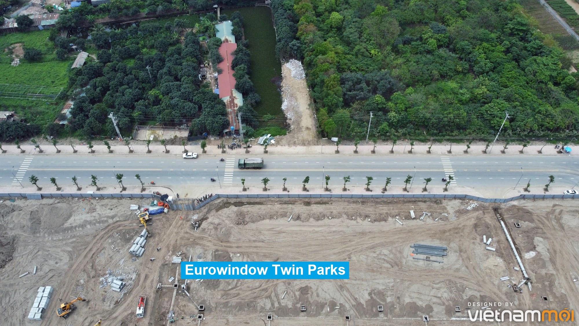 Toàn cảnh đường từ Kiêu Kỵ đến sông Cầu Bây qua Vinhomes Ocean Park đang mở theo quy hoạch ở Hà Nội - Ảnh 6.