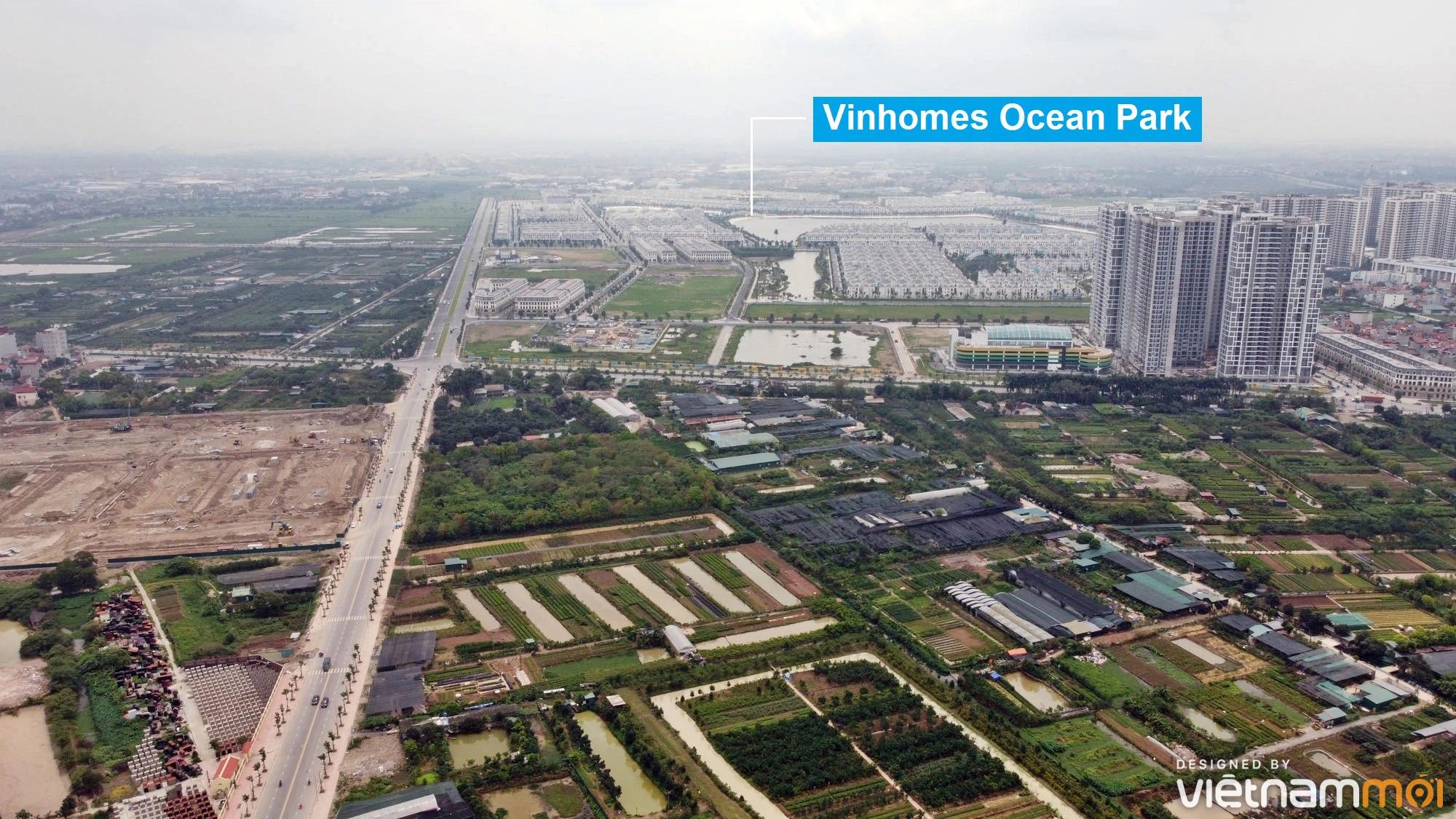 Toàn cảnh đường từ Kiêu Kỵ đến sông Cầu Bây qua Vinhomes Ocean Park đang mở theo quy hoạch ở Hà Nội - Ảnh 7.