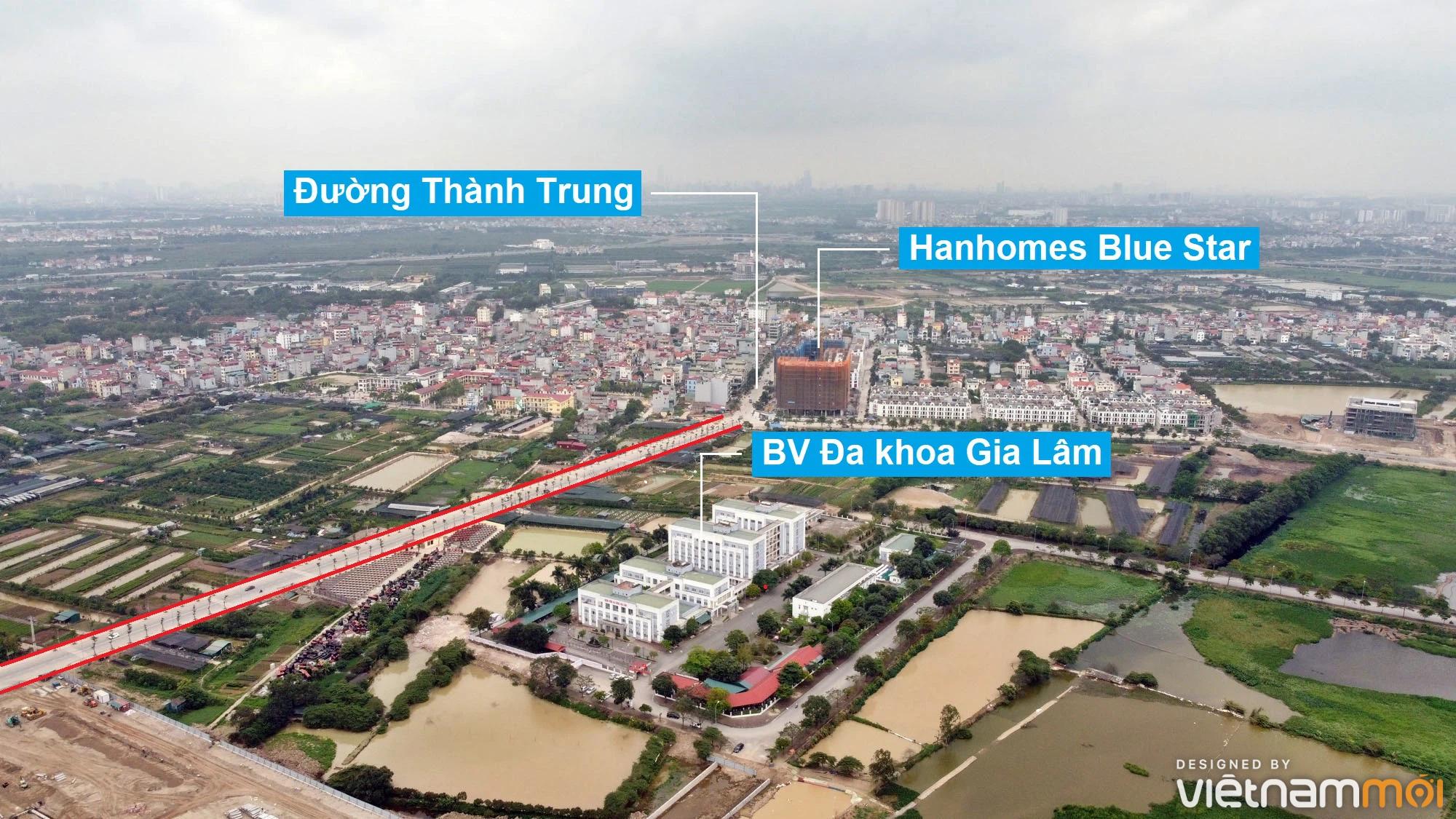 Toàn cảnh đường từ Kiêu Kỵ đến sông Cầu Bây qua Vinhomes Ocean Park đang mở theo quy hoạch ở Hà Nội - Ảnh 8.