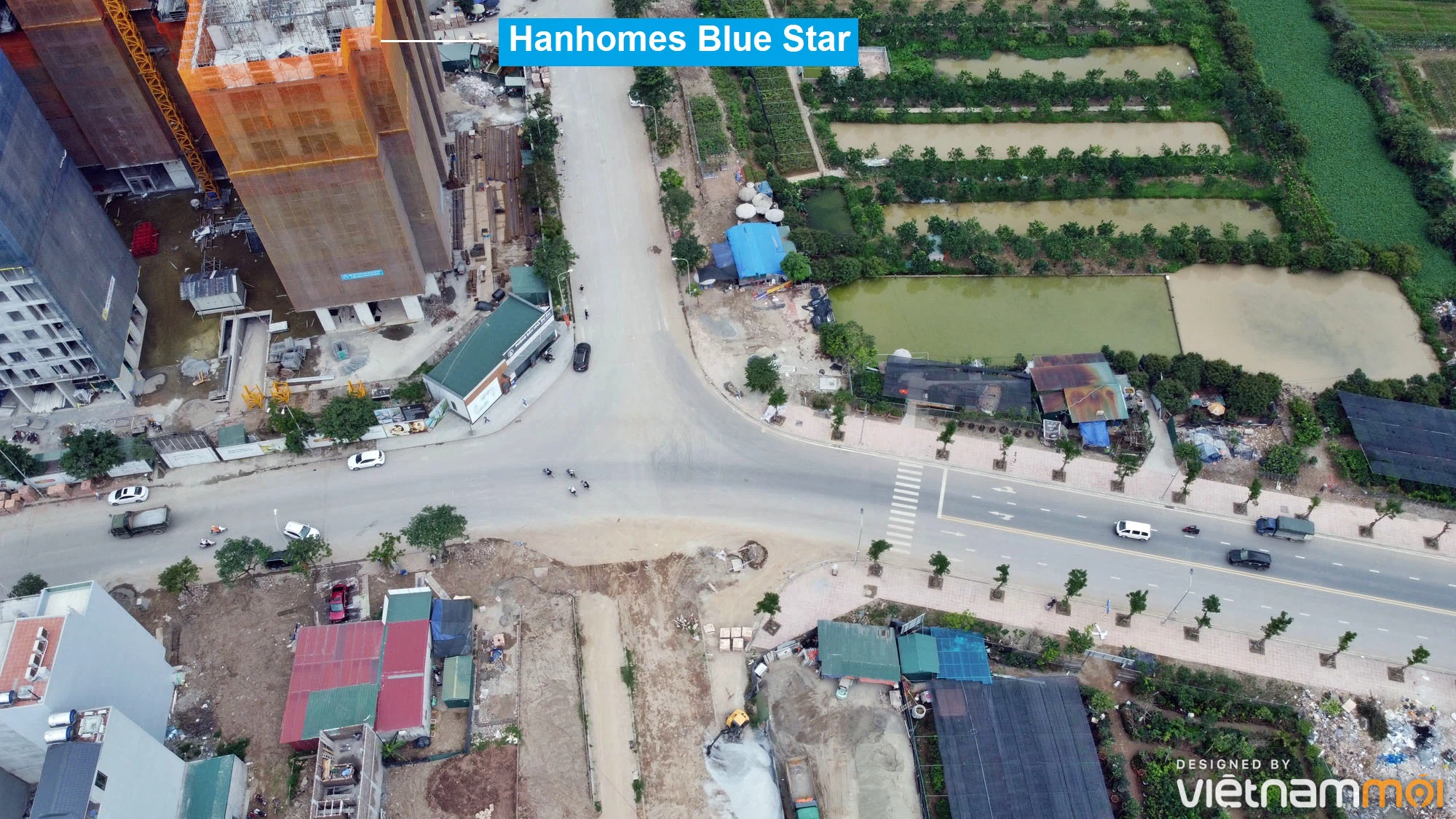 Toàn cảnh đường từ Kiêu Kỵ đến sông Cầu Bây qua Vinhomes Ocean Park đang mở theo quy hoạch ở Hà Nội - Ảnh 10.
