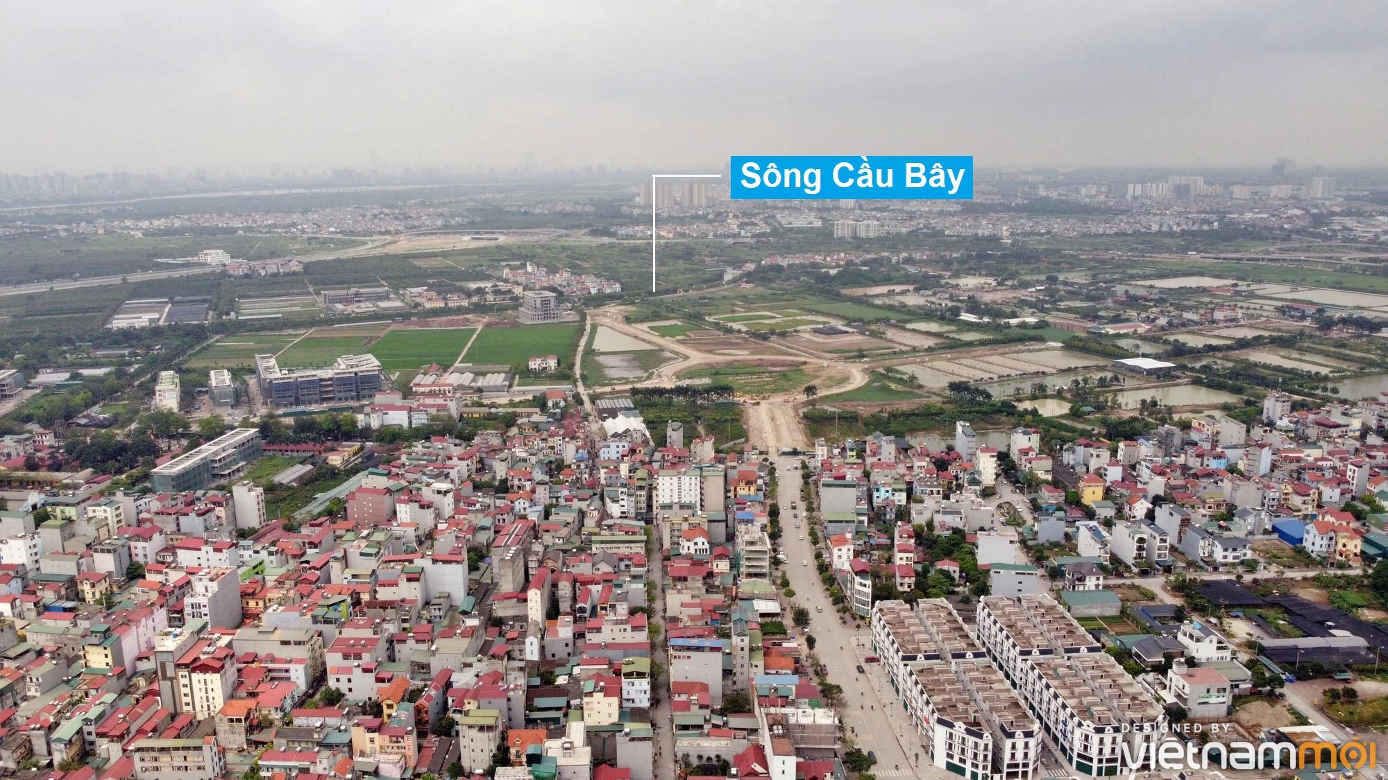 Toàn cảnh đường từ Kiêu Kỵ đến sông Cầu Bây qua Vinhomes Ocean Park đang mở theo quy hoạch ở Hà Nội - Ảnh 11.