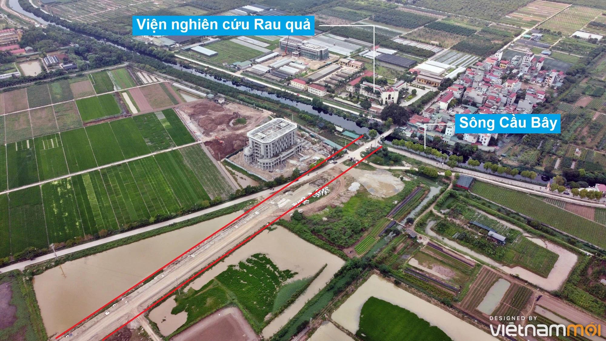 Toàn cảnh đường từ Kiêu Kỵ đến sông Cầu Bây qua Vinhomes Ocean Park đang mở theo quy hoạch ở Hà Nội - Ảnh 15.