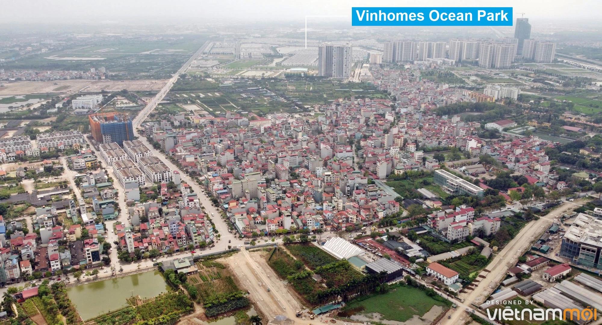 Toàn cảnh đường từ Kiêu Kỵ đến sông Cầu Bây qua Vinhomes Ocean Park đang mở theo quy hoạch ở Hà Nội - Ảnh 17.