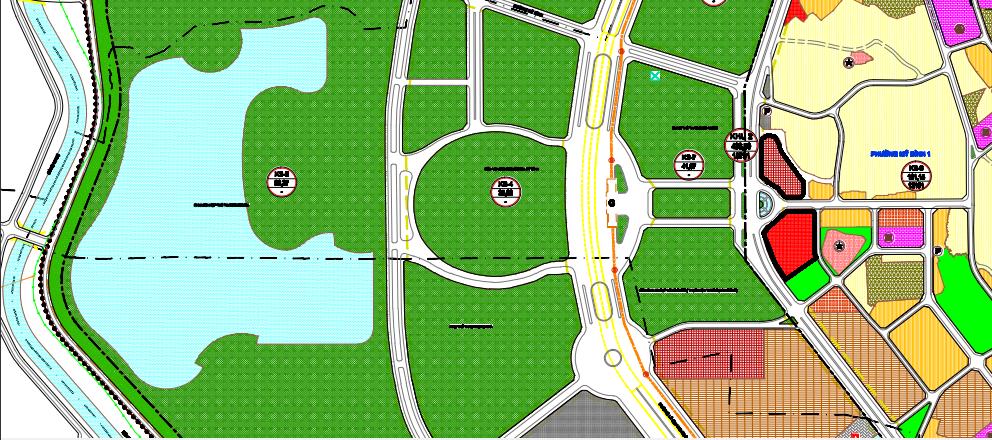 Đất dính quy hoạch ở phường Mỹ Đình 1, Nam Từ Liêm, Hà Nội - Ảnh 1.